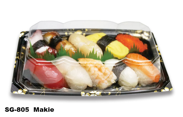 Sushi Tray SG-805 Makie