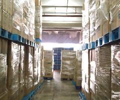 Hiro Food warehouse facility