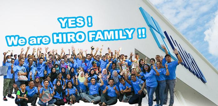 CAREER OPPORTUNITIES - Employee | Hiro Food