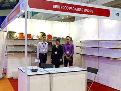 Selangor International Expo 2016 HIRO FOOD booth