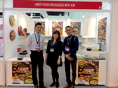 HIRO FOOD booth