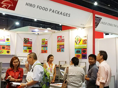 ThaiFEX2016 HIRO FOOD BOOTH crowded